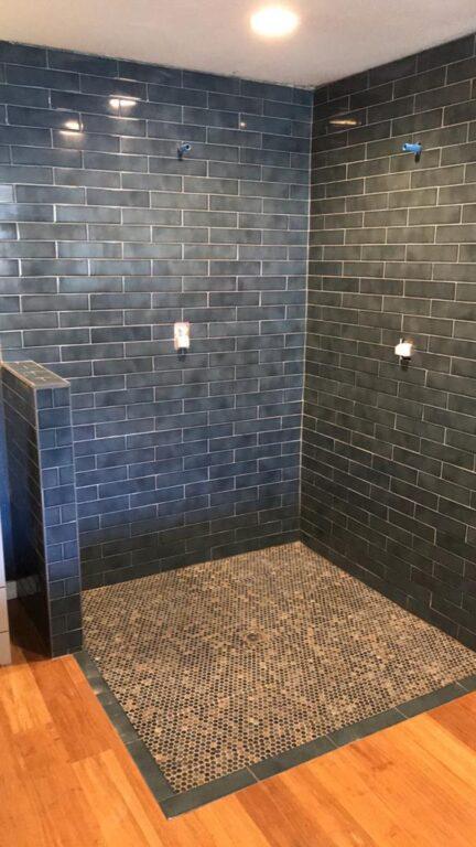New Shower stall